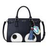 Му рыба (Muyu) Оригинальная сумка мода пригородной прекрасные большие глаза большой сумка картина сумка портативный Блэк Эйед Пис Синих 80159
