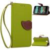 Зеленый дизайн Кожа PU откидная крышка бумажника карты держатель чехол для HTC Desire 626 розовый дизайн кожа pu откидная крышка бумажника карты держатель чехол для htc one a9