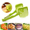 MyMei Creative Tomato Potato Lemon Cucumber Fruit Vegetable Slicer Cutter Food Holder free ship lemon slicer 2000ml professional fruit slicer electric apple orange tomato kiwi fruit slicer machine