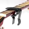 Профессиональные Good Fun Достижения акустической гитары Trigger Change Capo folk acostic electric guitar capo trigger key clamp quick change single handed black color