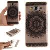 Черный Мандала шаблон Мягкий тонкий резиновый ТПУ Силиконовый чехол Гель для Samsung Galaxy Grand Prime G530H черная половина цветок шаблон мягкий тонкий резиновый тпу силиконовый чехол гель для samsung galaxy grand prime g530h