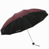 Paradise Зонт в три сложения против солнца и дождя 33188E красный соус подкрепление зонт женский isotoner ниагара 4 сложения полный автомат цвет черный