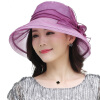 Lan поэзия дождь M0550 ВС капот действительно Sixia Корейский шелк шляпа ВС шляпа большой головной шлем солнца сладкий порошок