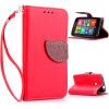 Красный Дизайн Кожа PU откидная крышка бумажника карты держатель чехол для Nokia Lumia 530 luxcase luxcase для nokia lumia 530 530 dual
