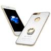Apple, iphone7pus классная музыка передних металлическое кольцо пряжки творческого телефона оболочка защитного рукав кронштейн оболочка падения сопротивления, пригодное для Iphone 7 PLUS Silver apple чехол iphone6 pus 5s 4s