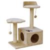 L & H Broadwood кошка лазалки кошачьих туалетов кошка игрушка кошка дерево сизаль кошка прыгает баскетбол бокс большой роскошный кошачьих туалетов HKP-B2003