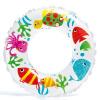 INTEX кружки детский круг жизни плавающий круг детский плавание кольцо для детей 6-10 лет белая рыба детский
