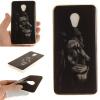 Черный лев шаблон Мягкий чехол тонкий ТПУ резиновый силиконовый гель чехол для Meizu mx5 чехлы для телефонов with love moscow силиконовый дизайнерский чехол для meizu m3 max лев 3