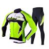 Mai Senlan MYSENLAN весна и лето с длинными рукавами верховая езда костюм костюм мужская куртка брюки велосипед король короля - флуоресцентный зеленый XL