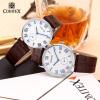 Comtex Марка Мода пару часов кожа кварцевые наручные часы мужские часы женские часы yazole кварцевые часы женщин lady девушка наручные часы марка знаменитые часы наручные часы кварцевые часы