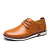 Чи EGCHI должны мужчины уличной обуви моды кожа обуви пластина 41 M 2693 желтовато-коричневый майка print bar муха обиженная