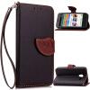 Черный Дизайн Кожа PU откидная крышка бумажника карты держатель чехол для Alcatel OneTouch Pixi3 5.0 мобильный телефон alcatel onetouch 2008g black white