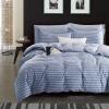 (Byford) Постельные принадлежности Домашний текстиль Twill Twill Отпечатанные четырехместные постельные принадлежности Хлопок Set Plus Double Kit 1.5 / 1.8m Bed Blues парикмахерские принадлежности