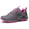 TFO кроссовые кроссовки дышащий шок удобные спортивные беговые кроссовки 853704 женские модели серый / розовый красный 37