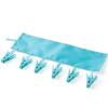 Фото Merope Портативная вешалка для одежды Folding Travel Hotel Подвеска для ванной комнаты Подвески для одежды Sky Blue