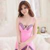GFM женщина сексуальное женское белье горячий сексуальный соблазн строп Nightdress розовый костюм с груди колодки 8095 gfm сексуальное нижнее белье леди с сундуком сексуальный костюм юбки 8068 белый