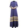 3 цвета Длинные мусульманские платья Элегантный Длинные Женщины Одежда длинные платья