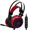 Черный джаз (AJAZZ) AX380 фрезия заказной вариант RGB черный красный отблеск гарнитуры гарнитуры компьютерных игр гарнитура игровой гарнитуры