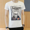 lucassa с короткими рукавами мужские шею мужские персонажи футболки футболки печатных короткими рукавами футболки 98053 Серый L футболки