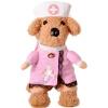 Клетка США Kojima домашних собак и кошек забавные смешные одежды оказалось розовое платье стоя M