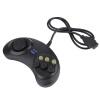 Шесть Buttoms ручка игры Command Pad пластиковые аксессуары для Sega Megadrive аксессуары для sega
