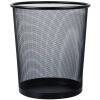 Tango (TANGO) средний мусорный ящик / мусорные баки / корзины для мусора / корзины сетка офисный бытовой диаметр 265 мм металлический черный