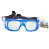 Длинная помощь футбол спортивных очков баскетбол зеркало очки XQ095, чтобы защитить глаза удобных рамок прозрачного синие линзы взрыва столы стулья чтобы защитить pad 4 шт чтобы защитить деревянный пол круглый квадратный b126