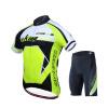 Mai Senlan / MYSENLAN подлинного коротких рукава джерси костюм мужской быстрой сушка одежда в летних велосипедах езды на горные велосипедах, оборудованных короли - флуоресцентный зеленый L 63 rose de mai