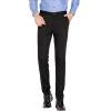 Ю. Zhaolin Тонкий случайных брюки мужские мужчины Simiandan бизнес случайные черные брюки YZLHT51 35