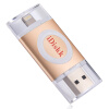 iDiskk U003 Мобильный телефон Apple U диск 64G Apple официальный MFi сертифицированный iPhone / iPad мобильный телефон с двойным использованием U диск мобильный телефон apple iphone plus 16g 64g 128g 3g