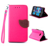 Розовый Дизайн Кожа PU откидная крышка бумажника карты держатель чехол для Nokia Lumia 730 чехол deppa prime classic для nokia n9 lumia 800 кожа черный