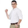 Dave Hill Мужская деловая рубашка с длинным рукавом и стоячим воротником, весенняя новинка 2017 года, чистый цвет новинка