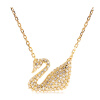 SWAROVSKI Swarovski Лебедь ожерелье золотой лебедь 5063921 beatrici lux кулон лебедь