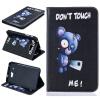 Синий медведь Стиль тиснение Классический откидная крышка с функцией подставки и слот для кредитных карт для SAMSUNG Galaxy Tab J 7.0 T285 x play master collar ошейник с надписью master