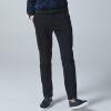 YOMS мужские случайные брюки мужчины Корейский досуг брюки спортивные брюки прилив модели прилива дикие черные брюки XL 180 yoms куртки мужские куртки с длинными рукавами печати прилив корейский монах воротник молния куртки хетер грей xl 180