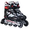 Cougar (COUGAR) Коньки роликовые коньки регулируемые детские роликовые ботинки для мужчин и женщин, обувь MZS835L-12 Lightning код черно-белый S роликовые коньки tempish mondial