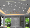 43pcs Stars Sky Зеркало наклейки стены потолка номер этикета декора искусства DIY diy sky diy 3