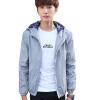 куртки md m куртки GEEDO куртки весны мужской куртки с капюшоном тонкий срез 8606 Black M