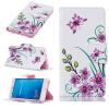 Розовый бабочка Дизайн PU кожа флип крышку кошелек карты держатель чехол для HUAWEI P9 LITE чехол для huawei p9 lite gecko flip case черный