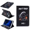 Классическая флип-обложка с тиснением Grim Reaper с функцией подставки и слотом для кредитных карт для SAMSUNG GALAXY Tab A 10.1 T580N smile pointer черный анальная пробка на присоске большая