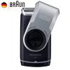 Браун электробритвы M60 серебристый металлик портативный моющийся лица уход за волосами усы бритва