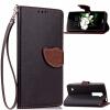 Черный Дизайн Кожа PU откидная крышка бумажника карты держатель чехол для LG K7 дух дизайн кожа pu откидная крышка бумажника карты держатель чехол для lg k7