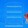24 отверстий серьги ювелирные изделия Показать Пластиковый дисплей стойки Стенд Организатор держатель