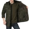 Мода Мужчины Пальто Толстые с капюшоном зимние платья хлопка Теплая дешевая одежда