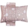 Sanli хлопок линт марля подушка 2 с AB версия плюсы и минусы с 50 × 75 см счастливый круг - практика цвета