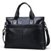 Gu Siqi GSQ человек кожаный мешок плеча мешок человек бизнеса вскользь мешок 168-3 черный юбка dai siqi d138