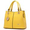Doodoo моды минималистский портативный плечо сумка сумка сумка большая сумка леди прилив дикий желтый Сумка D5028