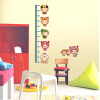 купить Removable Art Vinyl Quote kid height Wall Sticker Decal Mural Home Room Decor  350044 дешево