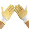 1002 добавить новые нескользкие перчатки Точка пластиковые перчатки носить защитные перчатки хлопчатобумажной пряжи / FU 12