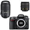 Комплект Nikon D7100 SLR (AF-S DX 18-200 мм f / 3,5-5,6G ED VR II для защиты от взлома) free shipping new and original for niko lens af s nikkor 70 200mm f 2 8g ed vr 70 200 protector ring unit 1c999 172